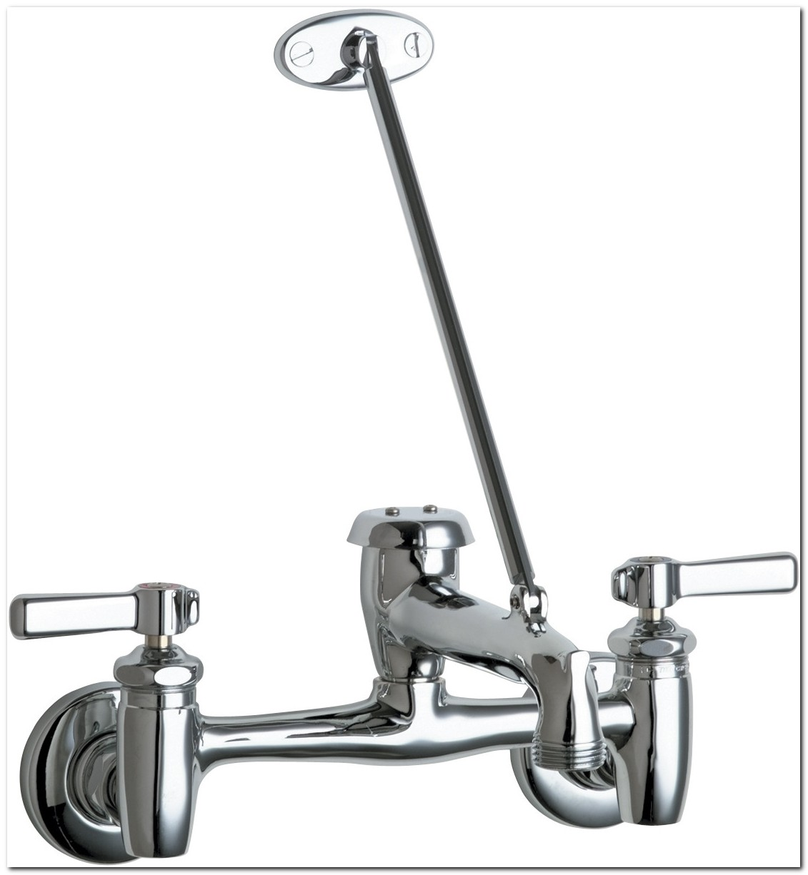 Chicago Mop Sink Faucet With Check Valves