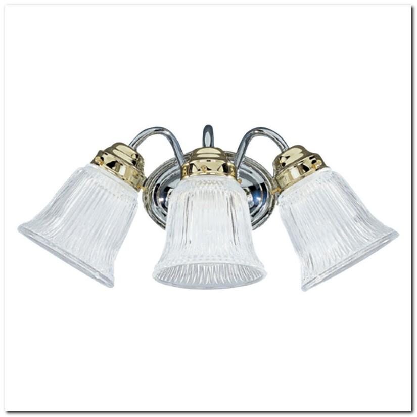 Chrome Polished Brass Bathroom Light Fixtures