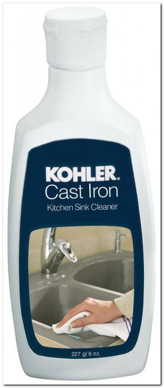 Cleaning Kohler Cast Iron Kitchen Sink