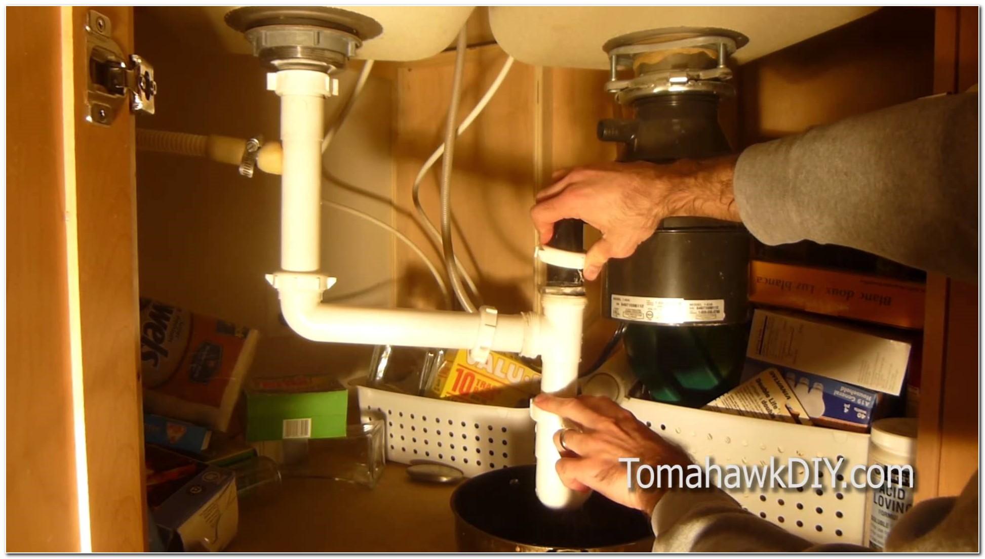 Clogged Drain Kitchen Sink Fix