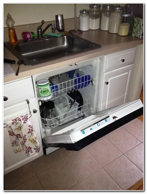Compact Built Dishwasher Under Sink