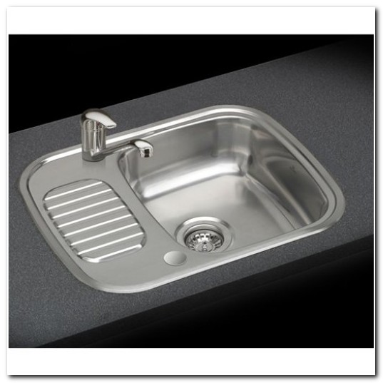 Compact Stainless Steel Sink With Drainer