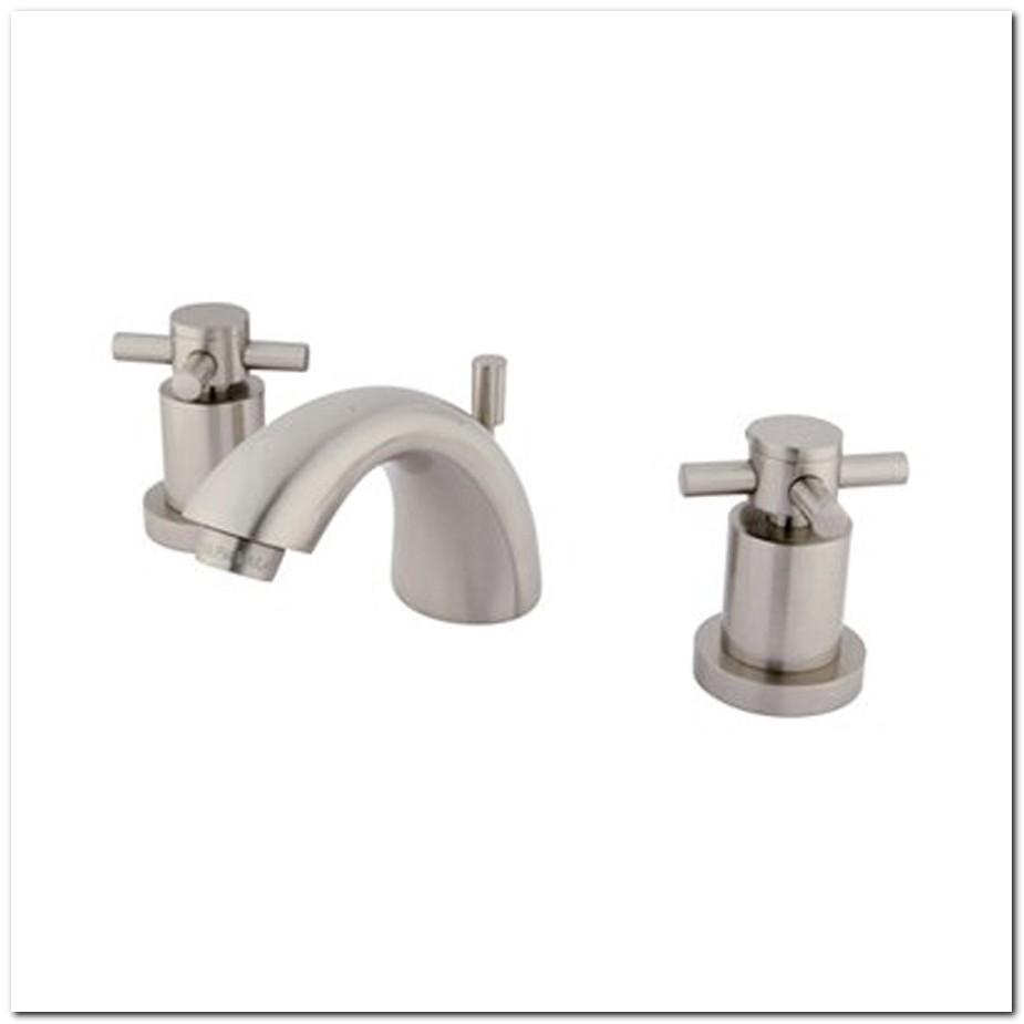 Concord Satin Nickel Mini Widespread Bathroom Faucet