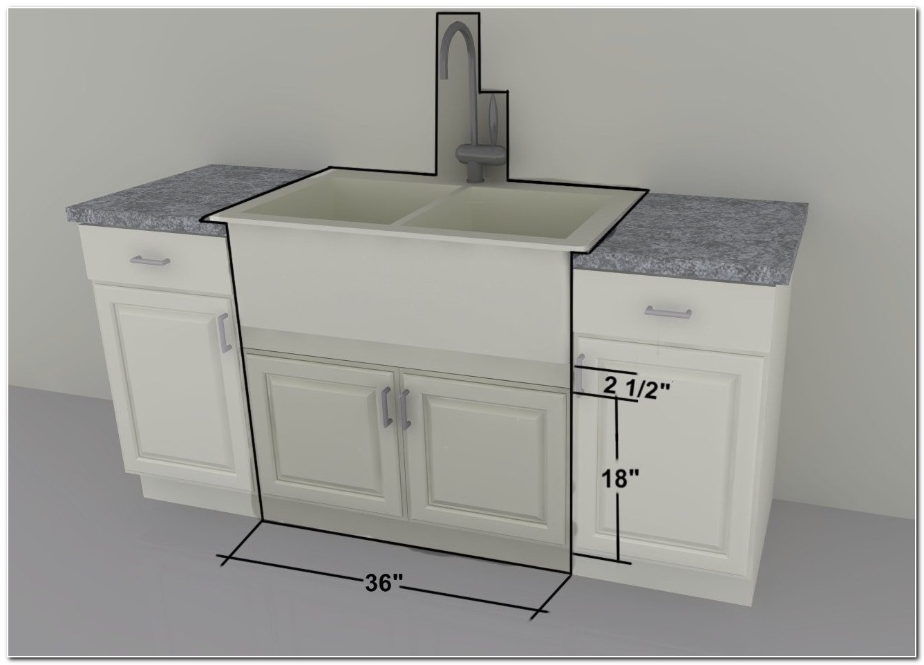 Convert Cabinet For Farmhouse Sink