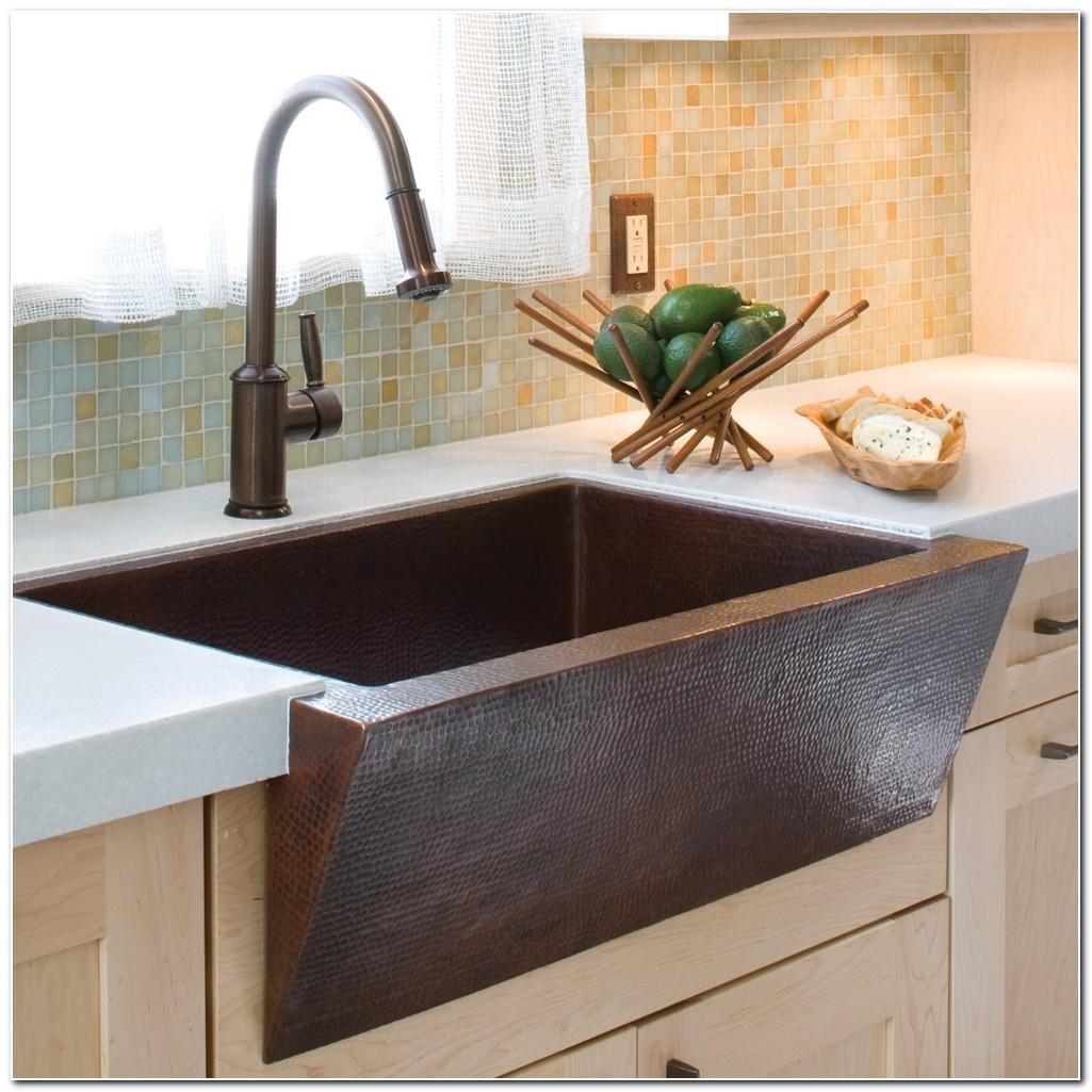 Copper Apron Farmhouse Kitchen Sink
