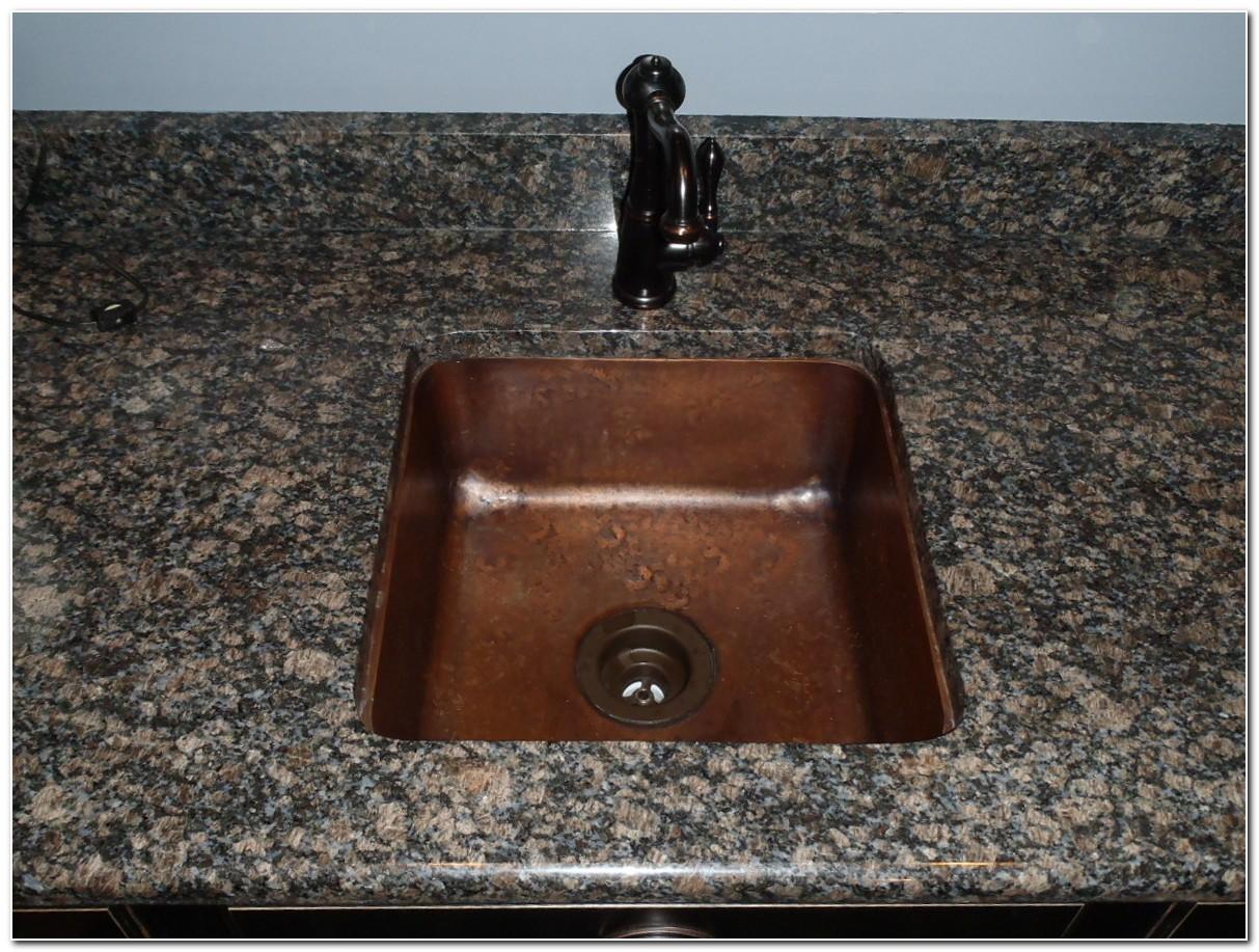 Copper Drop In Bar Sink