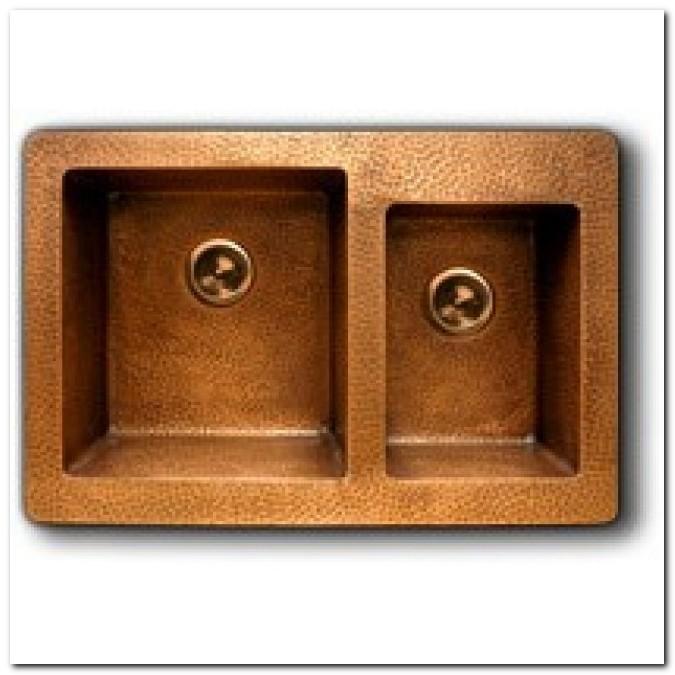 Copper Kitchen Sink 33 X 22