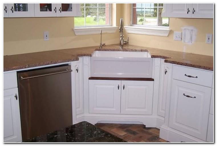 Corner Base Cabinet For Apron Sink
