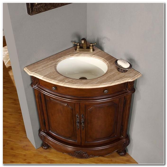 Corner Bathroom Sink Base Cabinet
