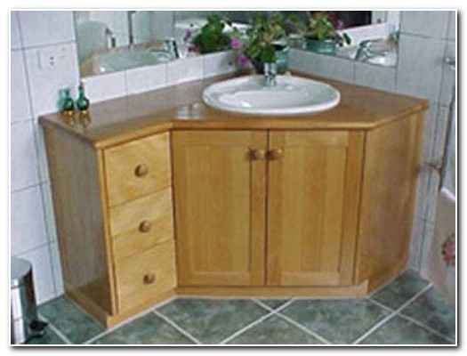 Corner Bathroom Sink Cabinet Vanity