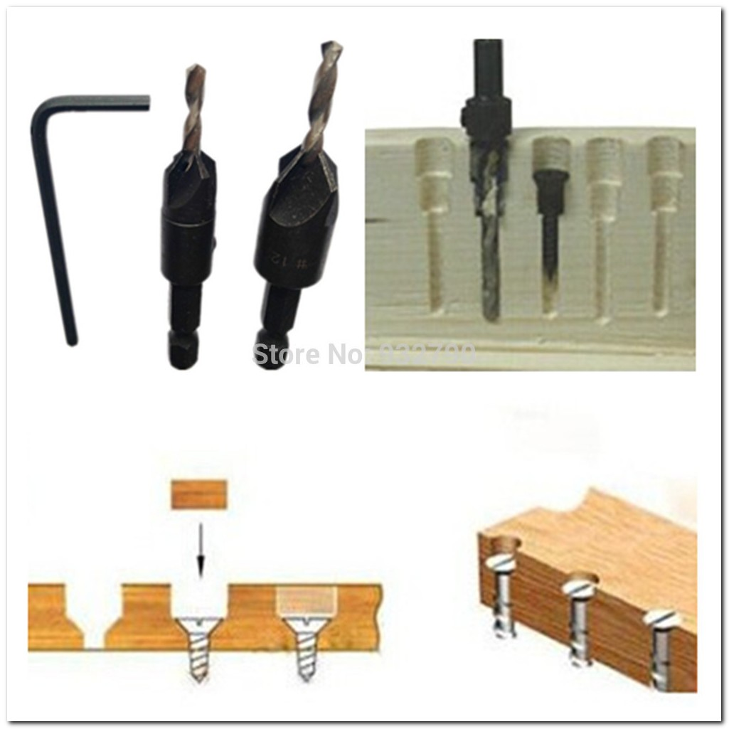 Countersink Drill Bits For Wood