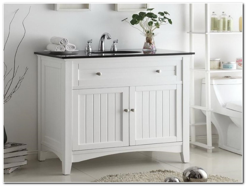 Country Style Bathroom Sink Cabinet