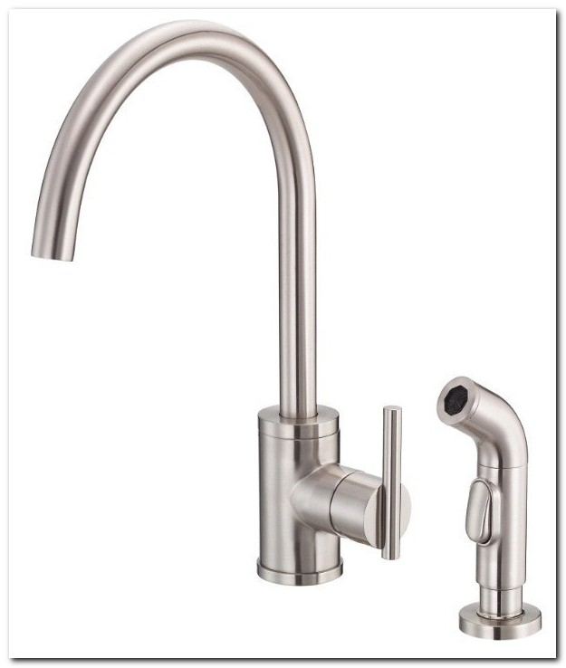 Danze Parma Deck Mount Kitchen Sink Faucet