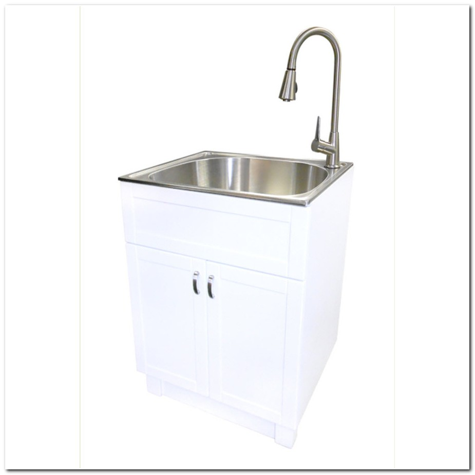 Deep Stainless Steel Laundry Room Sinks