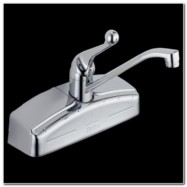Delta 200 Classic Wall Mount Kitchen Faucet