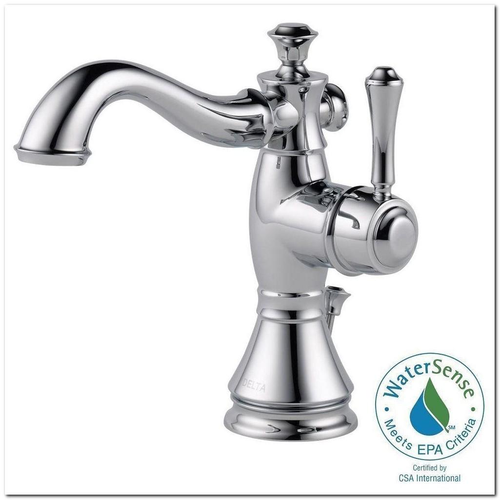 Delta Bathroom Faucet Single Hole