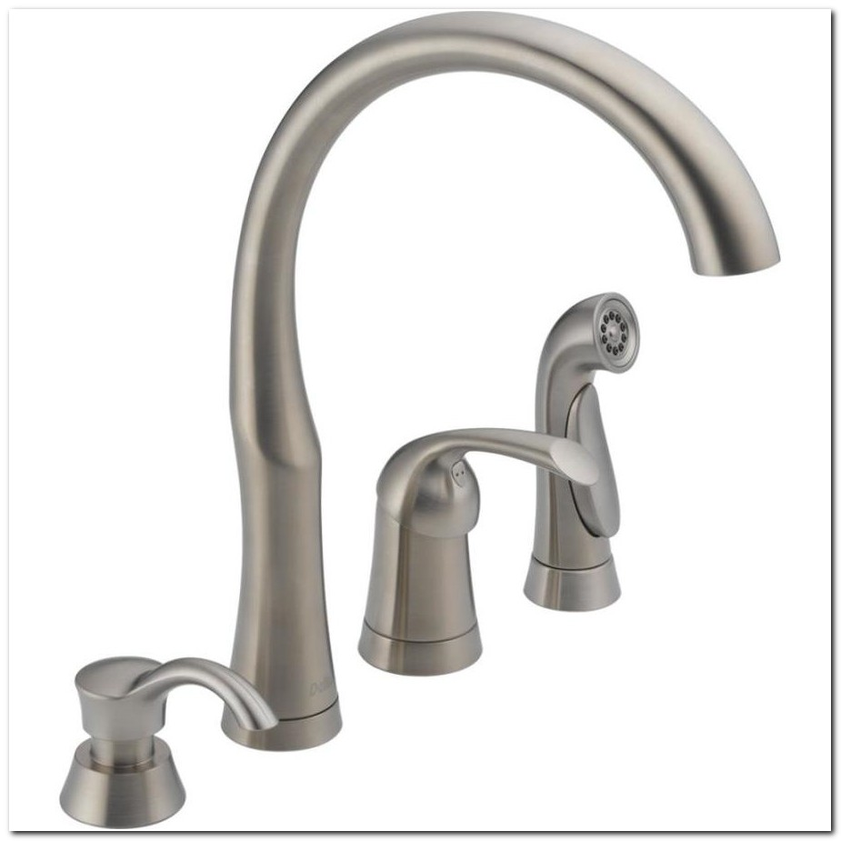 Delta Single Handle High Arc Kitchen Faucet