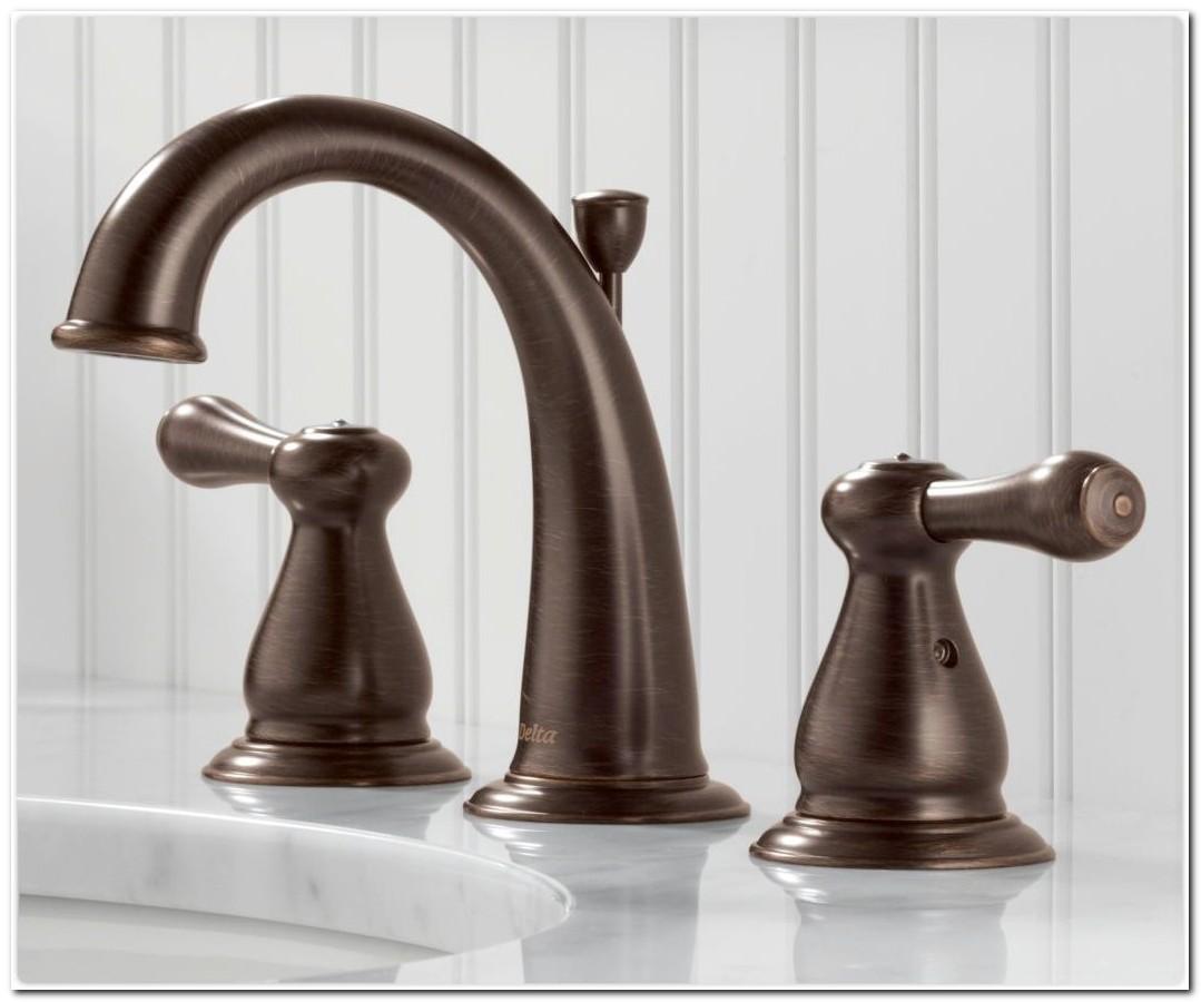 Delta Venetian Bronze Bathroom Fixtures