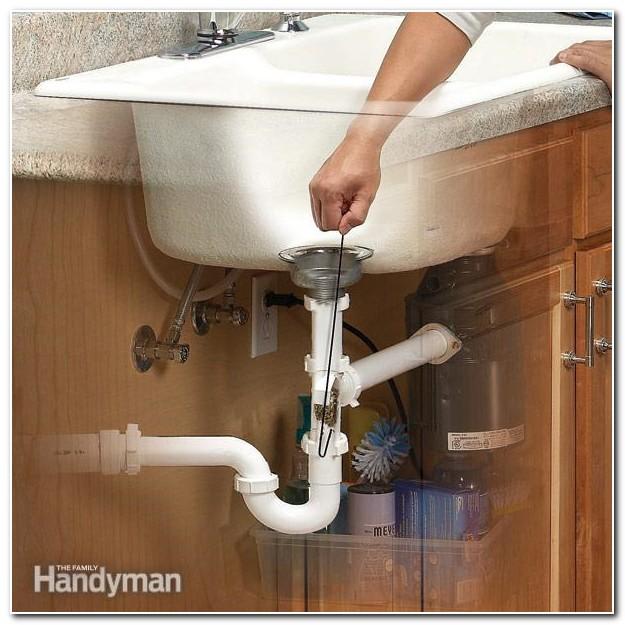 Diy Clogged Kitchen Sink Drain