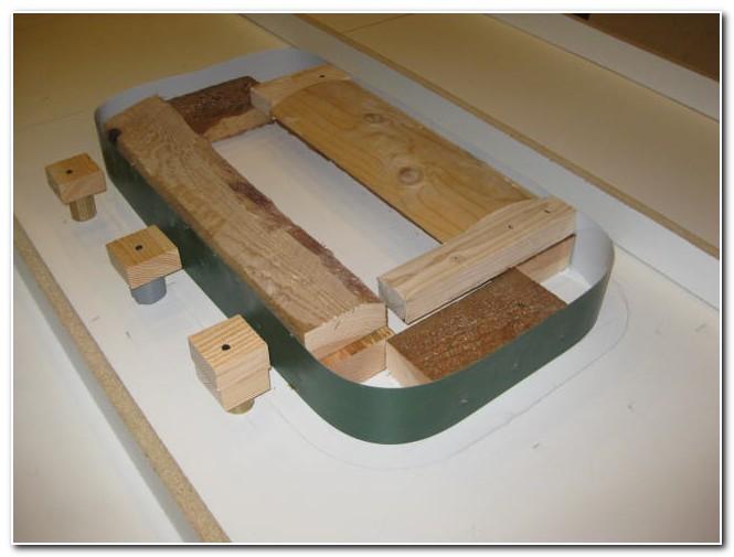 Diy Concrete Countertop Sink Forms