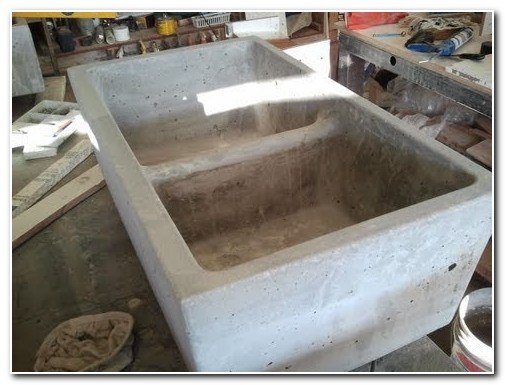 Diy Concrete Kitchen Sink Molds
