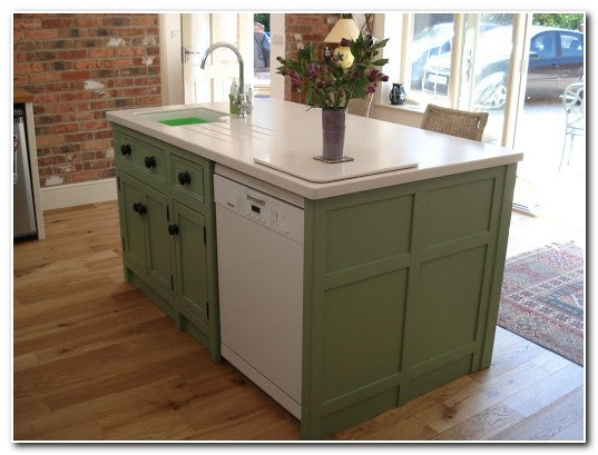 Diy Kitchen Island With Sink And Dishwasher