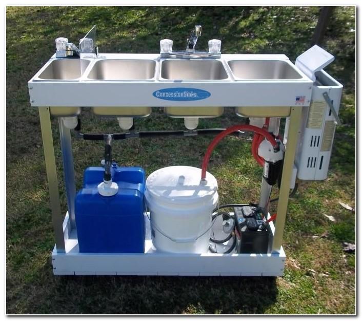 Diy Portable Hot Water Sink