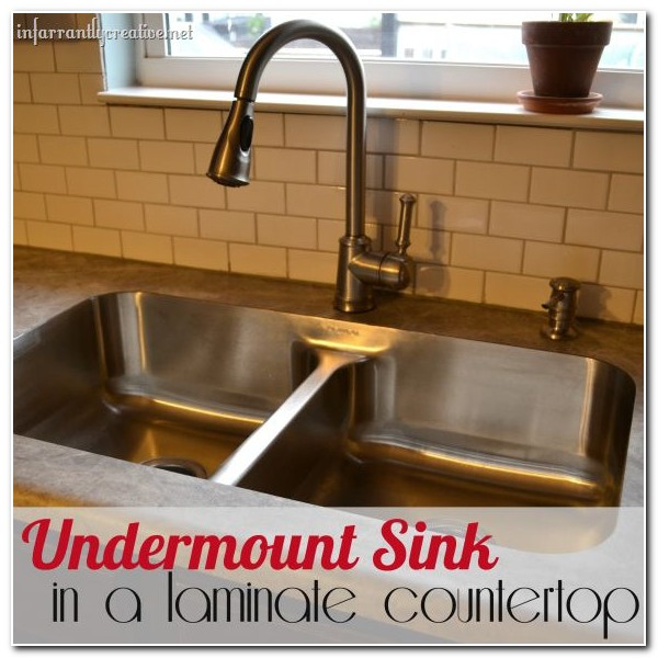 Diy Undermount Sink Laminate Countertop