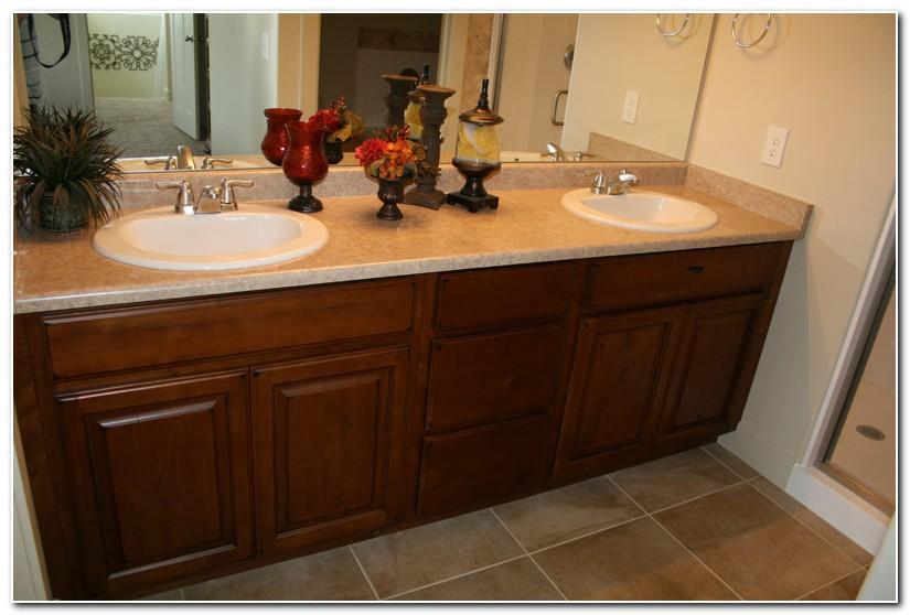 Double Sink Bath Vanity Cabinet
