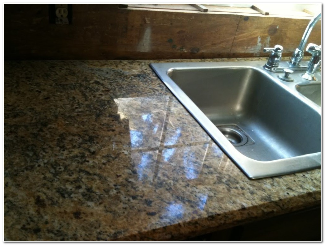 Drop In Sink On Granite Countertop
