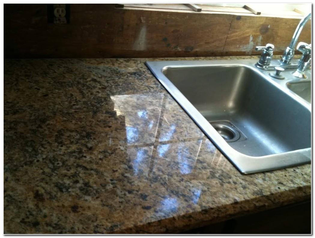 Drop In Sink Over Granite