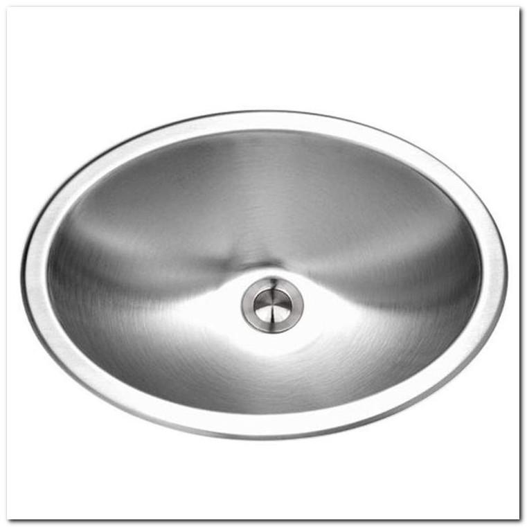 Drop In Stainless Steel Bathroom Sinks