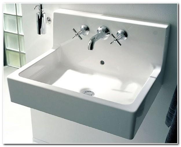 Duravit Wall Mounted Sink Installation