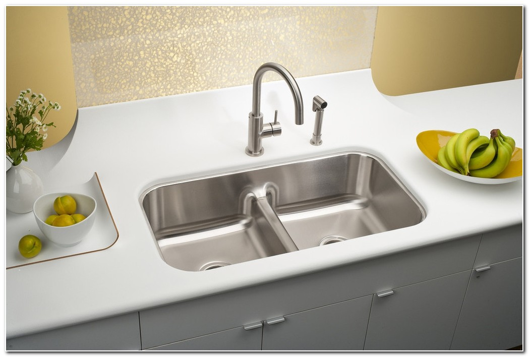 Elkay Gourmet Undermount Double Bowl Sink