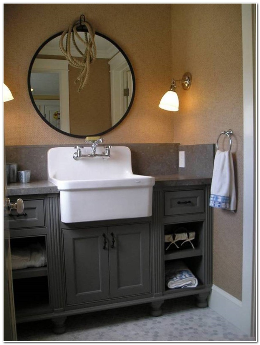 Farmhouse Style Sink For Bathroom