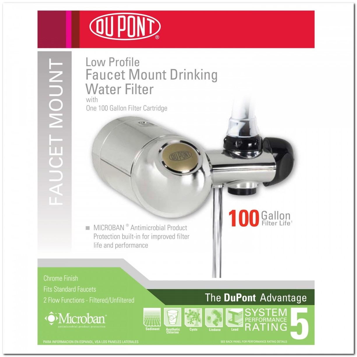 Faucet Mount Drinking Water Filter