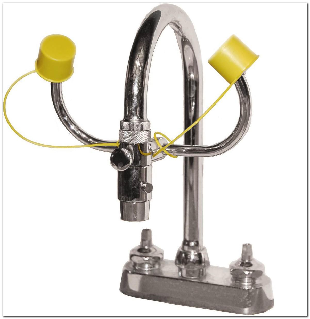 Faucet Mounted Emergency Eye Wash Station