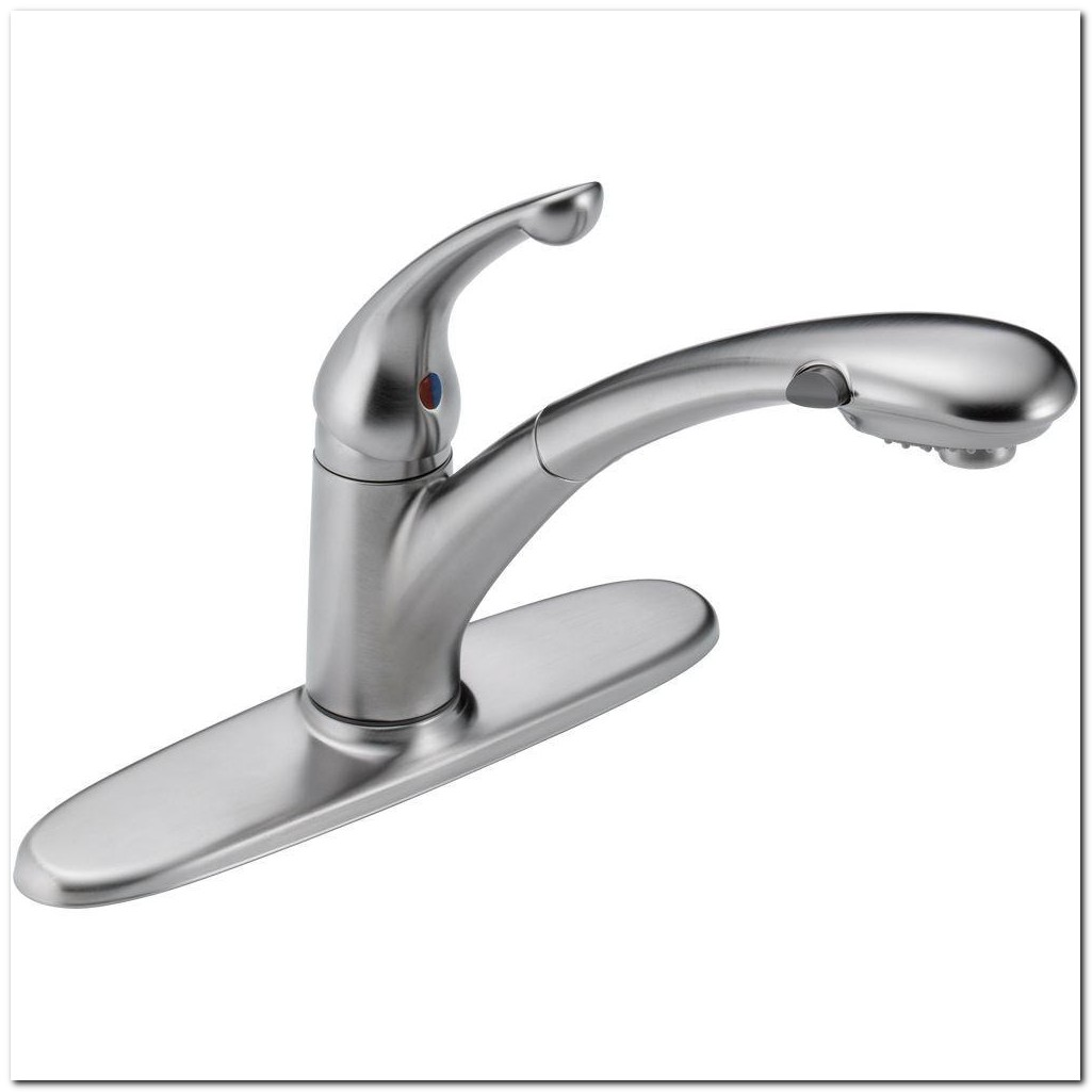 Faucet With Pull Out Sprayer