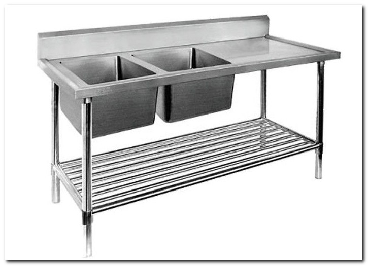 Food Prep Table With Sink