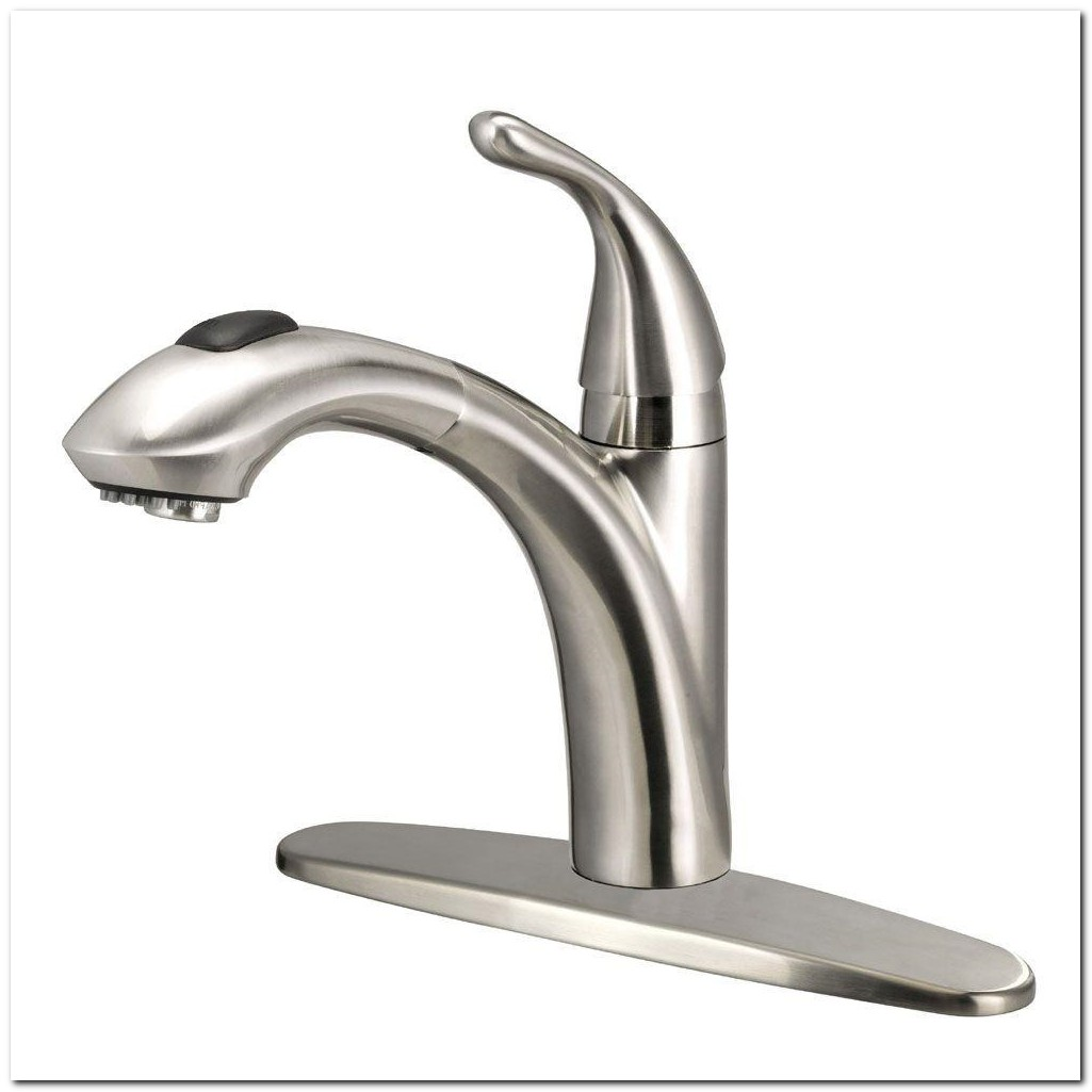 Glacier Bay Single Handle Kitchen Faucet