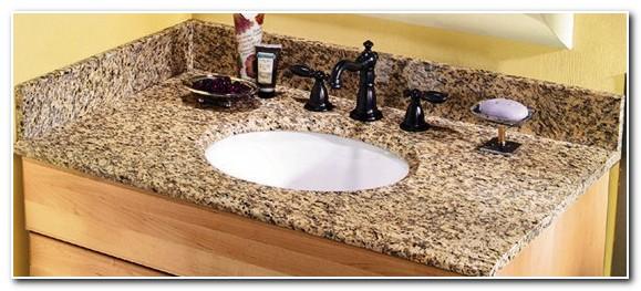 Granite Vanity Top With Undermount Sink