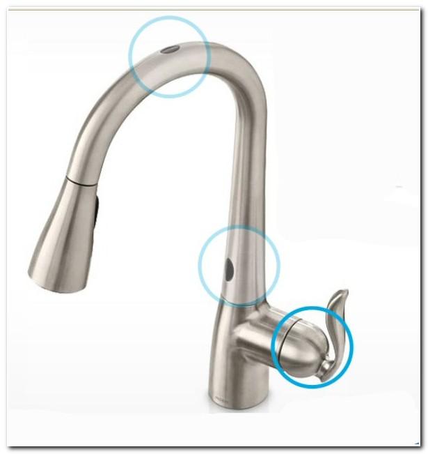 Hands Free Kitchen Faucet Moen
