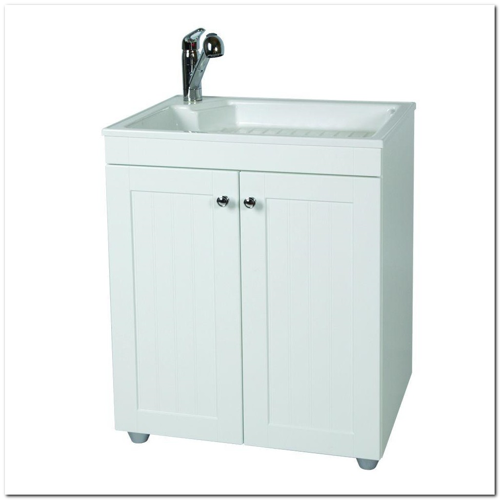 Home Depot Laundry Sink Cabinets