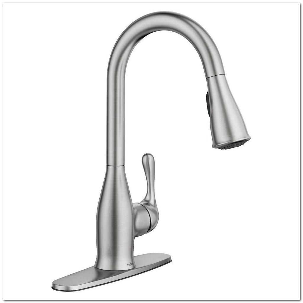 Home Depot Moen White Kitchen Faucet