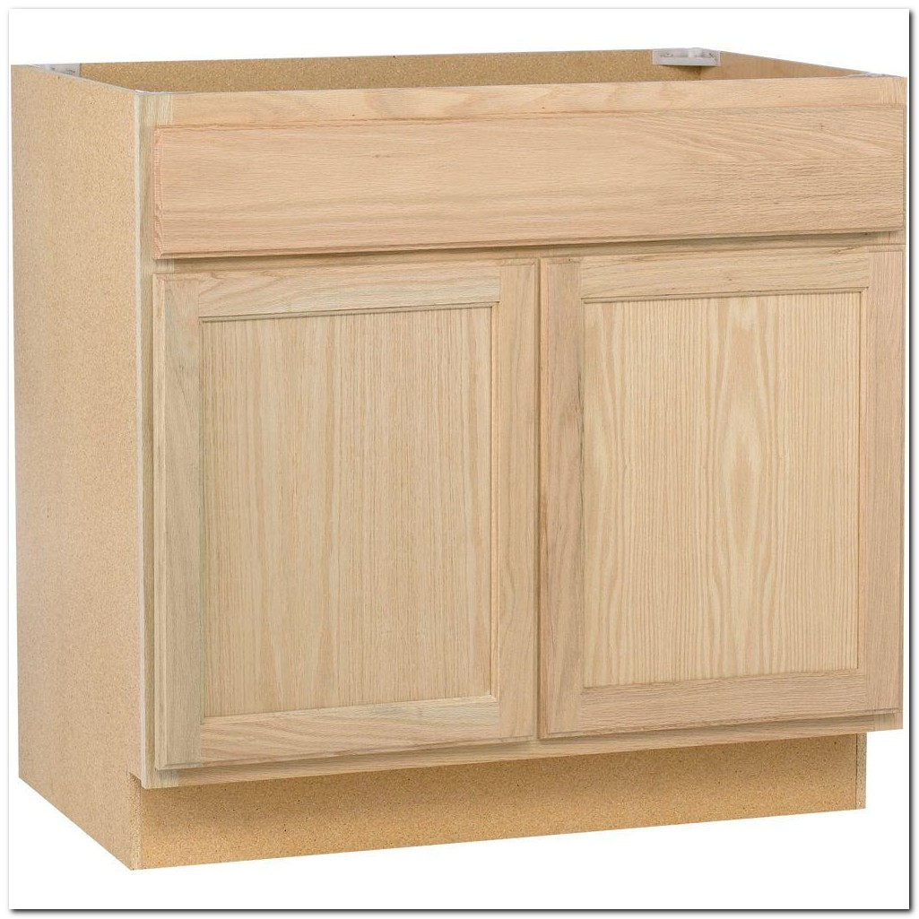 Home Depot Unfinished Sink Cabinets