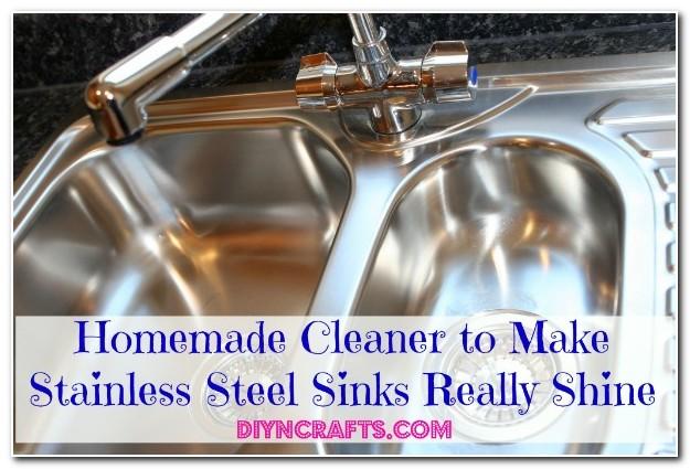 Homemade Cleaner For Stainless Steel Sinks