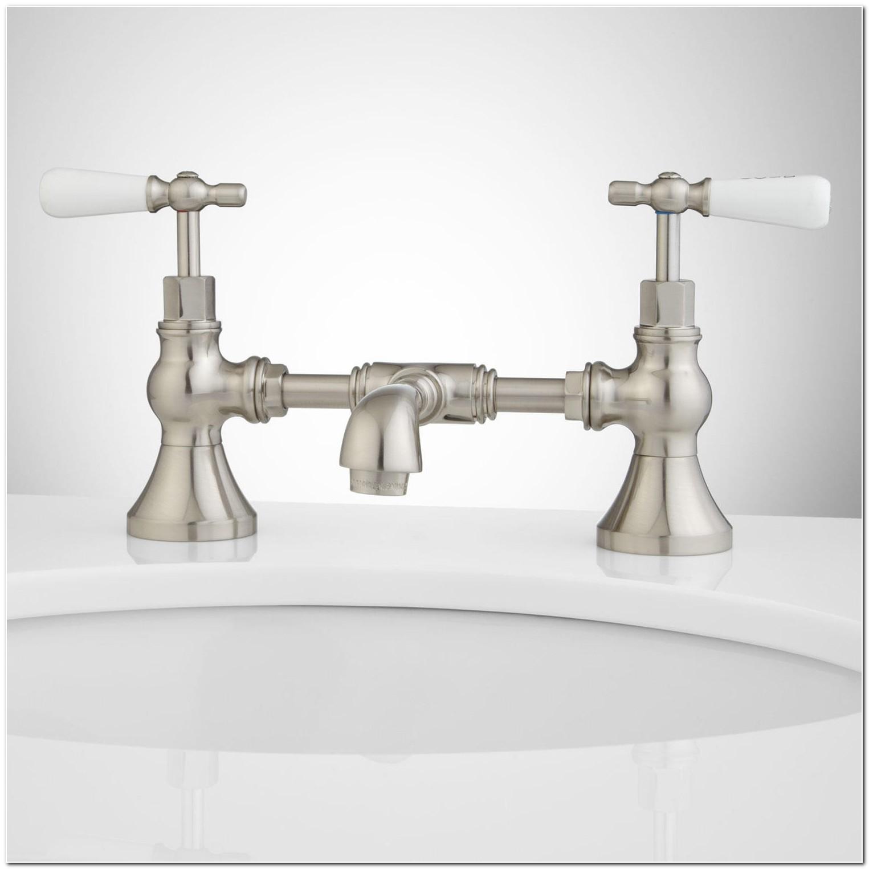 Hot And Cold Faucet Bridge
