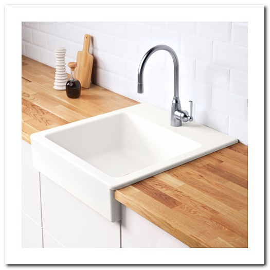 Ikea Apron Front Sink Single Bowl