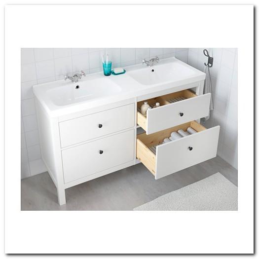 Ikea Hemnes Double Sink Vanity