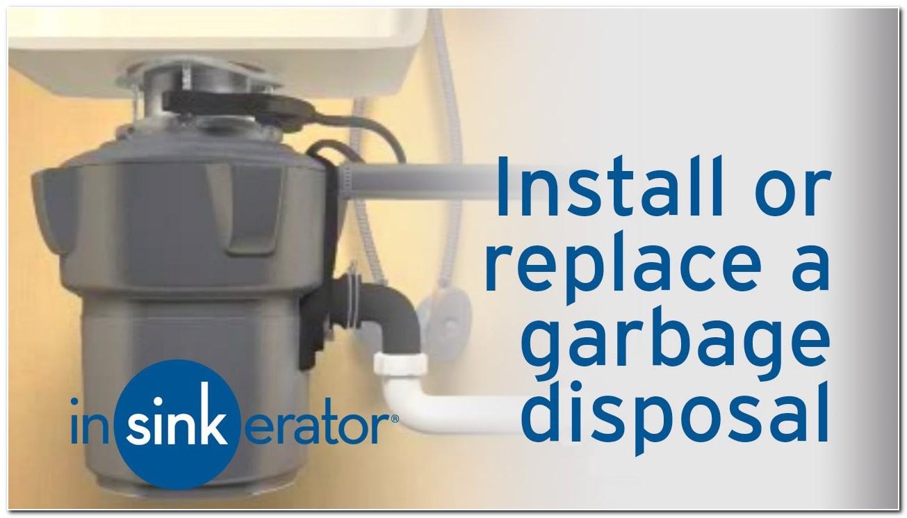 In Sink Garbage Disposal Removal